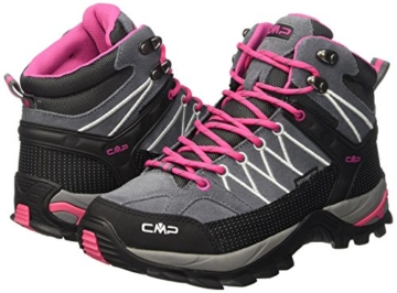 CMP Damen Trekking Schuhe Rigel Mid, grau (grey fuxia ice 103Q), 40, 3Q12946 -