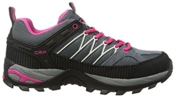 CMP Rigel 3Q54456 Damen Low Trekking Schuhe WP, grau (grey-fuxia-ice 103Q), 38 EU -