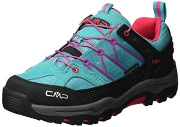 CMP Unisex-Erwachsene Rigel Trekking-& Wanderschuhe, Türkis (Curacao), 39 EU -