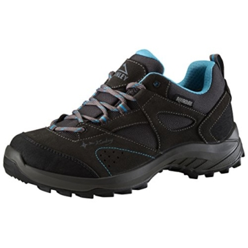 McKINLEY Damen- AQUAMAX® Trekkingschuhe Travel Comfort, grey dark/turquoise,41 -