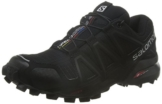 Salomon Damen Speedcross 4 Trailrunning-Schuhe, Schwarz, Synthetik/Textil Gr. 40.6 -