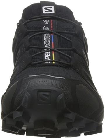 Salomon Damen Speedcross 4 Trailrunning-Schuhe, Schwarz, Synthetik/Textil Gr. 40.6 -
