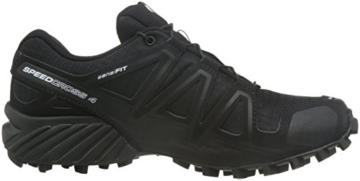Salomon Damen Speedcross 4 Trailrunning Schuhe, Schwarz, SynthetikTextil Gr. 40.6