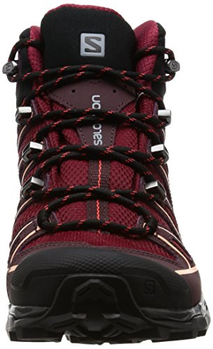 Salomon Damen X Ultra Mid 2 Gtx W Wanderstiefel, Rot (Tibetan Red/Fig/Peach Nectar), 40 2/3 EU -