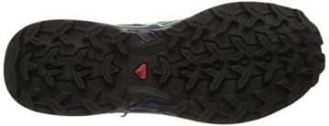 Salomon X Ultra Mid 2 GTX, Damen Trekking- & Wanderstiefel, Blau (Grey Denim/Deep Blue/Lucite Green), 40 2/3 EU (7 Damen UK) -